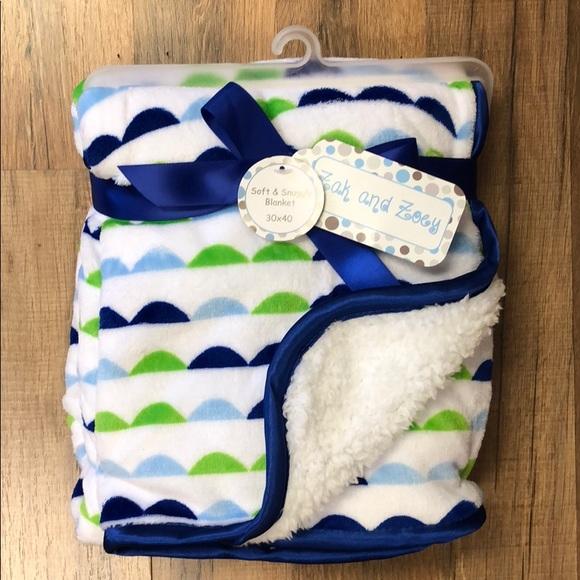 Zak & Zoey Other - Zak & Zoey Soft & Cuddly Baby Blanket NWT